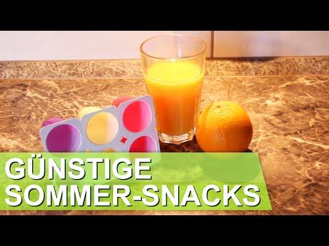 Perfekte Sommer-Snacks -