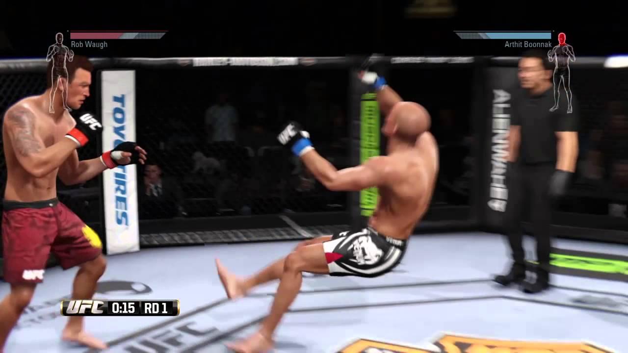 UFC Capoeira Kick - YouTube