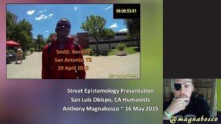 Street Epistemology Presentation: Atheists United | San Luis Obispo