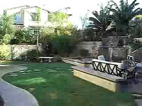 Tropical Paradise Backyard Youtube