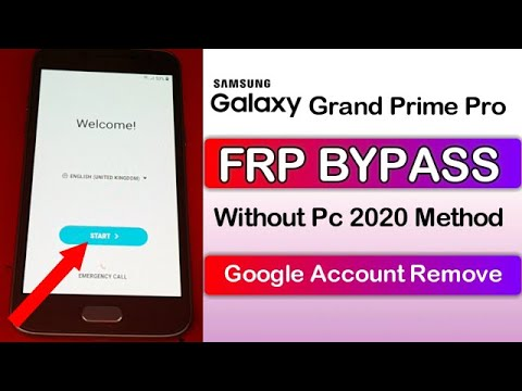 Samsung Grand Prime Pro FRP Bypass Without Pc 2020 Method Android 7.1.1