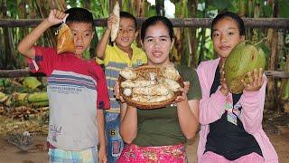 Amazing Cooking Potato W/ Coconut Delicious Recipe  -  Cook  Potato-Recipes  - Village Food Factory