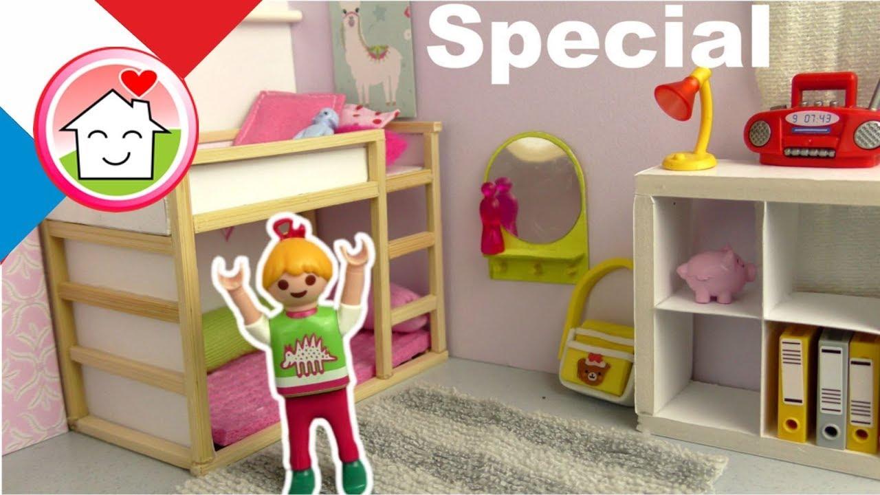Playmobil Famille En Pour Diy Chambre Francais Ikea Lena D´enfants Enfants Hauser Jouets CtoshQdrxB