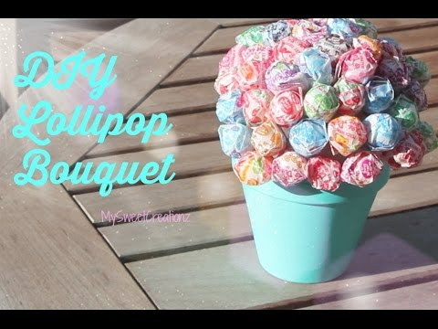 ♡ DIY Gift idea: DIY Lollipop Bouquet ♡