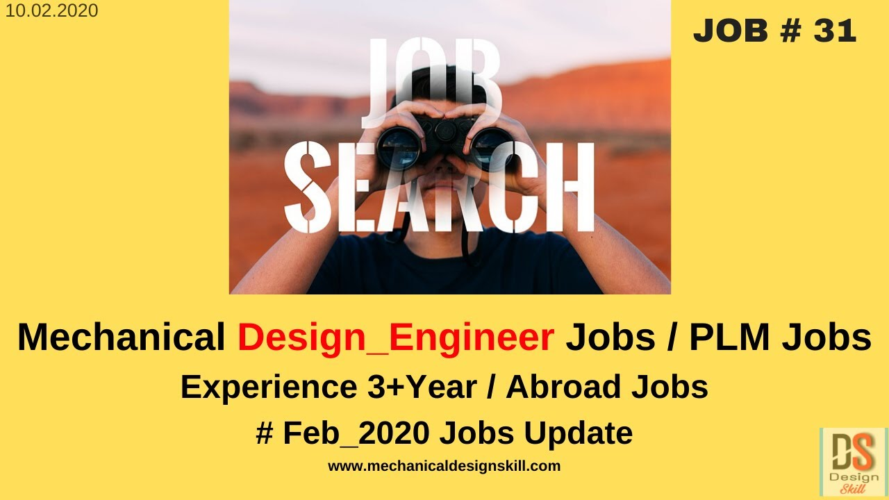 Job Update 31 L Mechanical Design Engineer Job I Abroad Jobs L Creo Jobs L Pune Jobs Youtube
