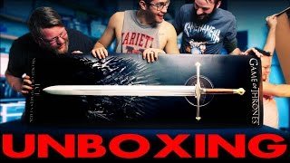 Viewer Gift UNBOXING!! Game of Thrones - ICE - The Sword of Eddard Stark
