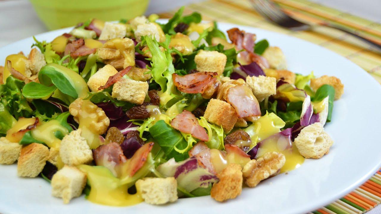 Ensalada california recetas de cocina sanas youtube for Rectas de cocina faciles