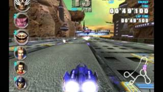 F-Zero GX (GameCube) - Gameplay (Ruby Cup)