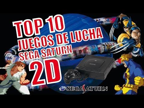 Top 10 Mejores Juegos De Lucha 2d Sega Saturn Comentado