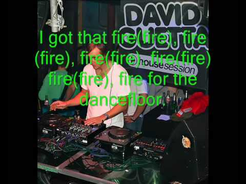 David Guetta-On The Dancefloor (feat. Will I Am & Apl de Ap) Lyrics