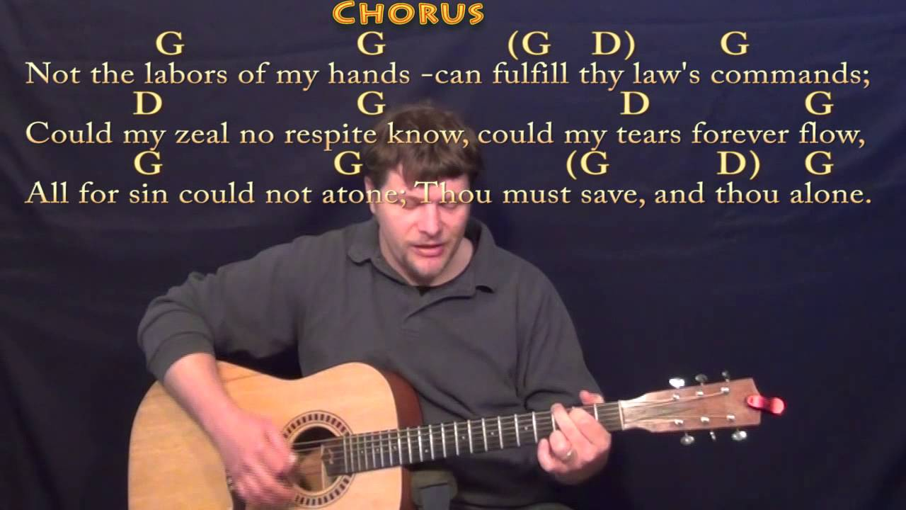 Rock of ages guitar chords