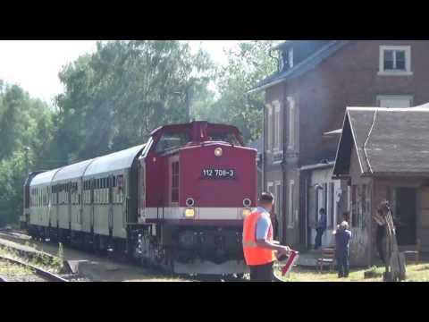 Sonderzug von Brand Erbisdorf nach Freiberg (Sachsen)