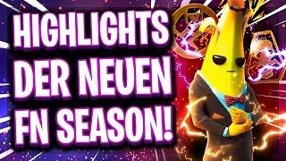 Die LUSTIGSTEN HIGHLIGHTS der neuen Fortnite SEASON!! 😂😎 | Fortnite Chap. 2 Season 2