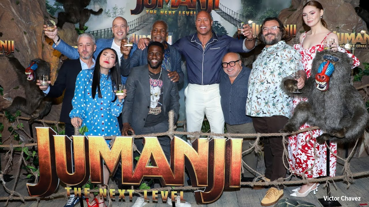 Jumanji The Next Level Cast Photo And Toast Extra Butter Youtube