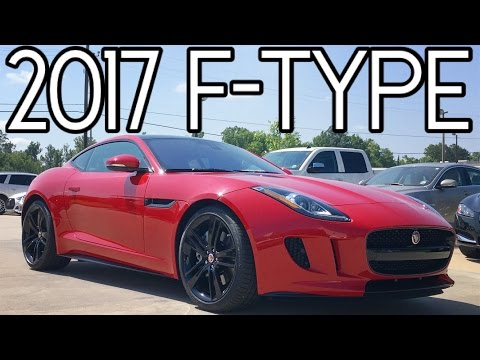2017 Jaguar F-Type Coupe Full REVIEW, Start Up, EXHAUST