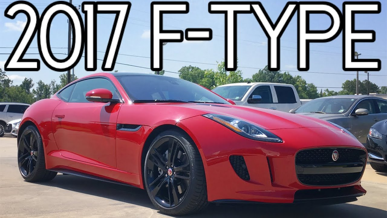 2017 Jaguar F Type Coupe Full Review Start Up Exhaust