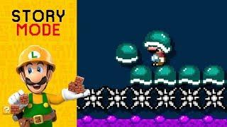 Super Mario Maker 2 - Episode 20: BUZZY: The Movie: The Book: The Ride