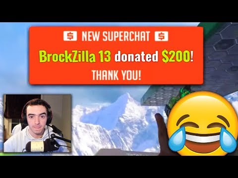 BIGGEST DONATIONS IN LESS THAN 30 MINUTES! (insane reaction)