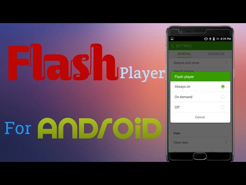 how to download flash player on android