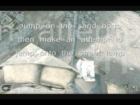 Cod4: Secret Areas/Glitch Spots: Crash