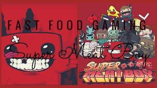 Fast Food Gaming épisode 2 : Super Meat Boy Des traces de sang vous dites?