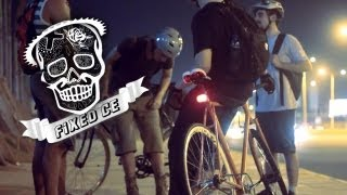 Fixed Gear Fortaleza - Nite Ride