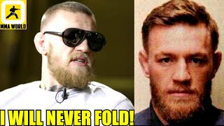 Conor McGregor says the recent allegations against him in France is a SET UP,DC on Woodley vs Colby