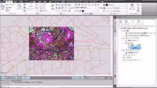 13:AutoCAD Map 3D 様々な座標系を持つデータの重ね合わせ