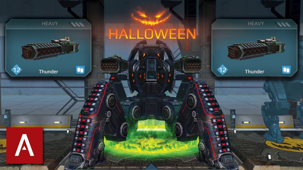 War Robots Halloween  Review With Gameplay