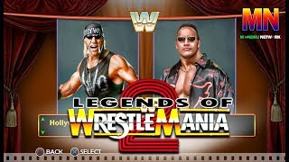 WWE LEGENDS OF WRESTLEMANIA 2. for PLaystation 4 and X box One.. Fan Made Trailer