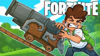 MY FORTNITE PIRATE CANNON WONT MOVE!