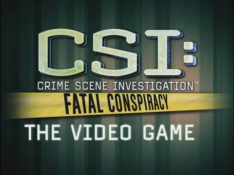 csi fatal conspiracy serial number