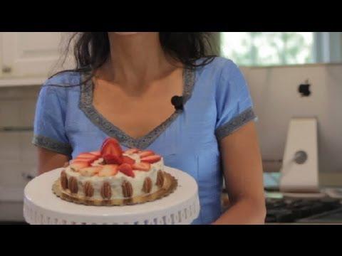 Strawberry Cake Recipes : Vegan Desserts