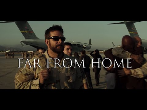 """""""Far From Home"""" - Five Finger Death Punch (""""American Sniper"""" music video)"""
