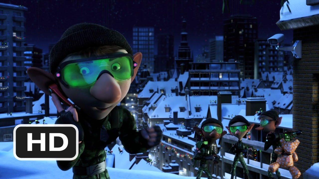 Arthur Christmas Elves.Arthur Christmas 2 Movie Clip Ninja Elves 2011 Hd