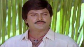 Alludugaru Movie || Mohan Babu Telling His Flashback Scene || Mohan Babu, Shobana