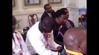 Zimbabwe Paralympic Team welcomed in London August 28 2012