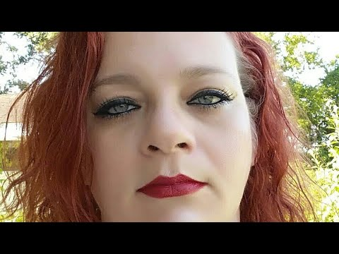 Hair transformation - Schwarzkopf Color Ultime 5.22 Ruby Red - vlog - New Orleans Park picnic