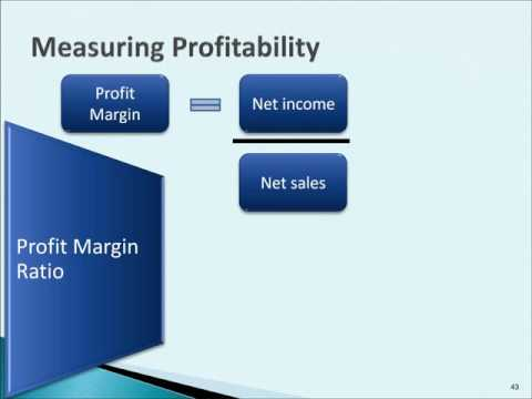 Time Interest Earned, Measures of Profitability