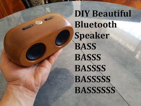 DIY Waterproof (IP67) Beautiful Bluetooth Speaker Small but powerful))
