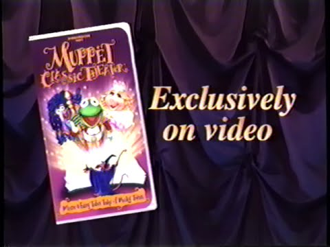 Muppet Classic Theater Muppet Classic Theater 1994 Trailer VHS Capture YouTube