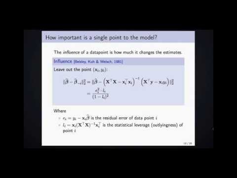 Randomized Linear Regression: A brief Overview and Recent Results - Brian McWilliams - #3