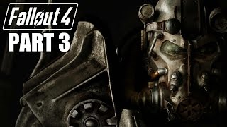 Fallout 4 Gameplay Walkthrough Part 3 - POWER ARMOR - Xbox One 1080P