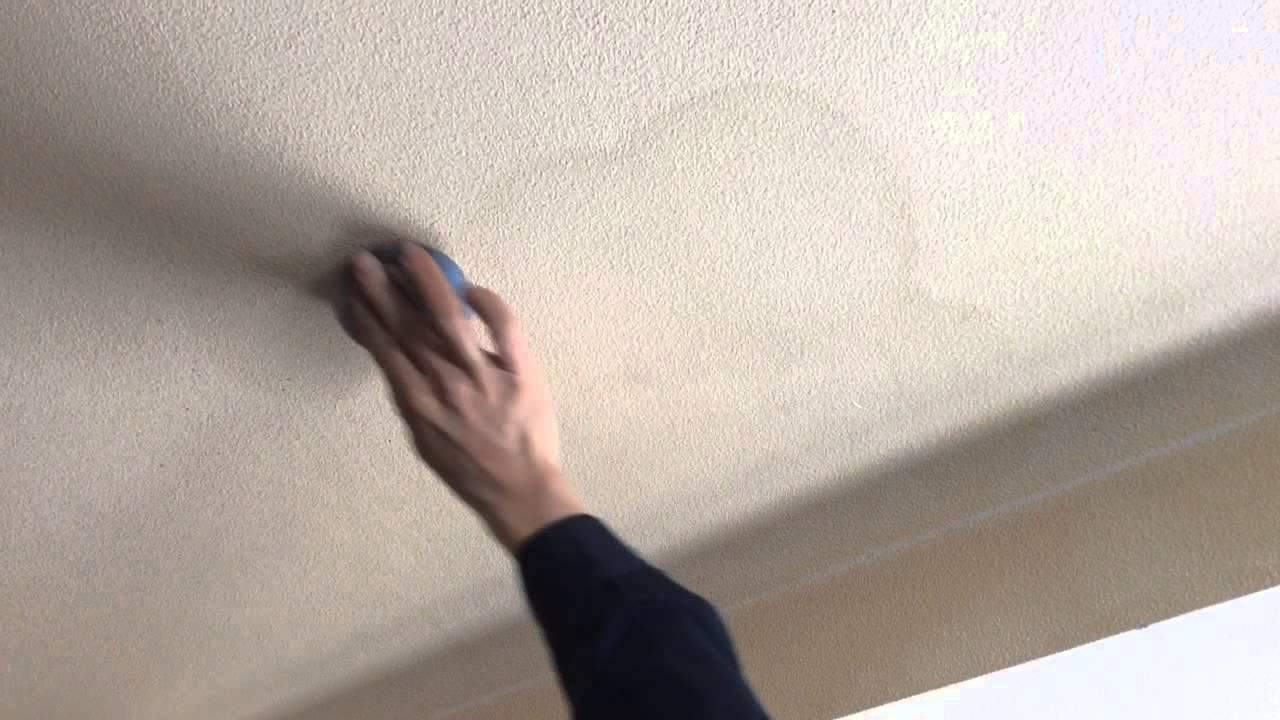 天井のクロスのシミ汚れ落としをみらいの洗剤でやってみた Youtube