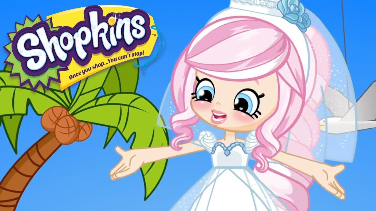 Shopkins - The Bride  Cartoons For Kids  Toys For Kids -8912