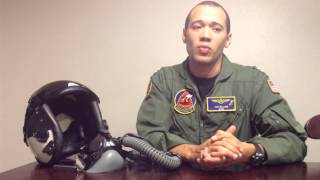 Why do fighter pilots wear oxygen masks when they fly
