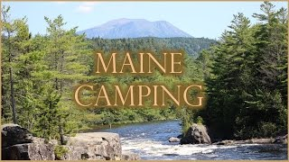 Chewonki's Big Eddy Campground, Maine