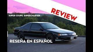 Thunderbird Sc ( Supercharger ) Reseña en Español