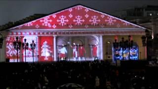 Световое шоу на Манеже, 2014 год, Москва, Россия, 3D mapping