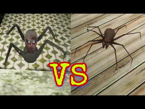 Granny's Spider Vs Slendrina's Child In Granny Chapter Two